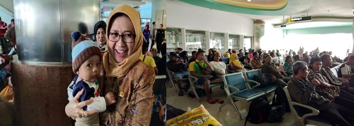 Penjemputan Pengungsi Wamena Di tanjung Perak Surabaya