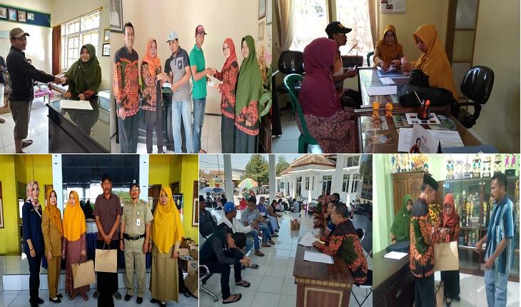 Penyerahan Bantuan Sosial Kepada Warga Lumajang Korban Kerusuhan Wamena